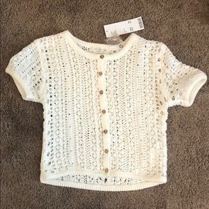 Urban Outfitters knit crop. Size Small